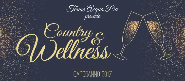 Country & Wellness - Capodanno 2017 alle Terme